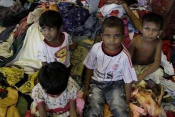 Acnur quer migrantes transportados para a terra. Foto: Acnur