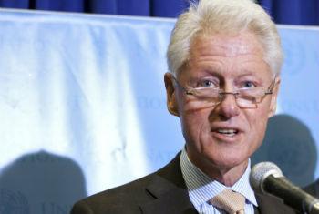 Bill Clinton. Foto: ONU/J Carrier