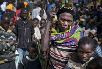 Refugiados burundeses. Foto: Acnur/K.Holt
