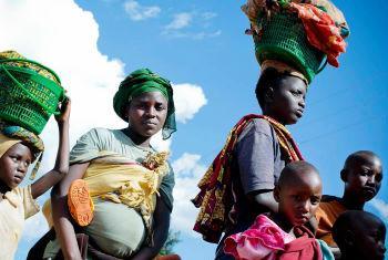 Burundeses refugiados em Ruanda. Foto: Acnur