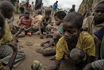 Crianças centro-africanas. Foto: Acnur/O. Laban-Mattei