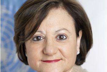 Cristina Gallach. Foto: ONU/Mark Garten