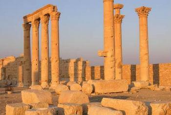 Patrimônio cultural de Palmira, Síria. Foto: Unesco/F. Bandarin