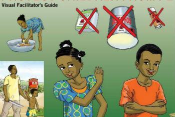 Guia para proteger crianças de pesticidas. Imagem: FAO