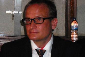 O chefe da missão do FMI, Félix Fischer. Foto: Rádio ONU