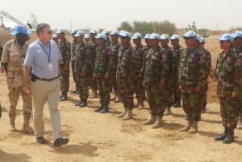 Foto: Escritório para Parcerias Estratégicas para Operações de Paz da ONU