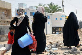 Civis no Iraque. Foto: Unami