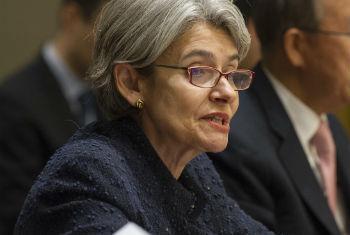 Irina Bokova. Foto: ONU/Eskinder Debebe