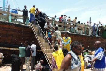Desde o início dos confrontos no Iémen, 3.177 cidadãos da Etiópia foram levados de volta ao seu país.Foto: OIM