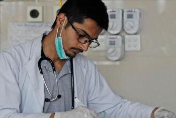 O relatório Estatísticas Mundiais da Saúde foi baseado em dados de 194 países. Foto: OMS/A. Khan