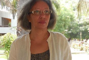 Zaida Maria Lopes Pereira. Foto: Rádio ONU/Amatinjane Candé