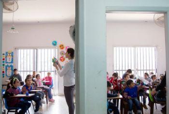 A educação é essencial para alcançar as Metas de Desenvolvimento Sustentável.Foto: Unesco