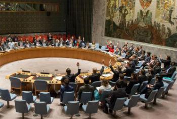 Resolução aprovada no Conselho de Segurança, nesta sexta-feira. Foto: ONU/Loey Felipe