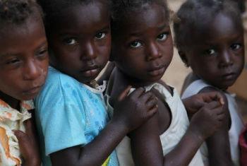 Prevenção ao sarampo na Guiné-Bissau. Foto: Unicef Guiné-Bissau