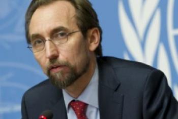 Alto comissário para Direitos Humanos, Zeid Al Hussein. Foto: ONU/Violaine Martin