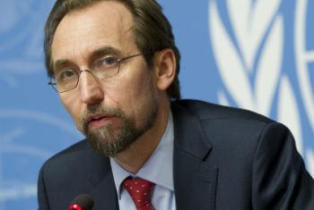 Alto comissário para Direitos Humanos, Zeid Al Hussein, participou do evento. Foto: ONU/Violaine Martin