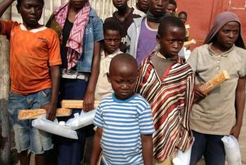 Mulheres e crianças afetados pela violência. Foto: Unicef.