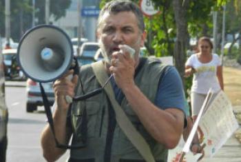 Biólogo e mestre em ecologia, Mário Moscatelli. Foto: arquivo pessoal.