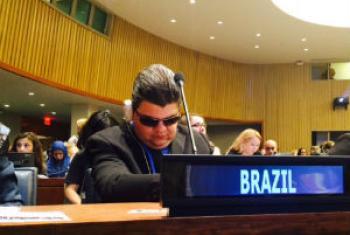 Antonio José Ferreira participa do encontro na sede da ONU. Foto: Rádio ONU