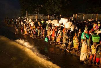 Refugiados burundeses. Foto: Acnur/B. Loyseau