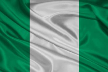 Bandeira da Nigéria.