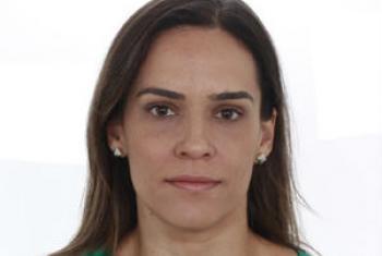 Maria Claudia Mello Falcão, coordenadora, no Brasil, do Programa Internacional para Eliminação do Trabalho Infantil da OIT. Foto: Arquivo Pessoal.