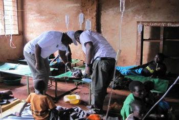 Campanha de vacinação contra a cólera. Foto: OMS Tanzânia