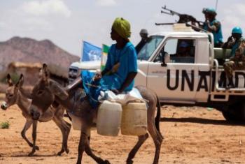 Mais combates na área de Jabel Marra. Foto: ONU.