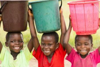 Saneamento e água potável para todos. Foto: Unicef Malawi