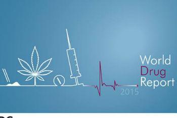 Relatório Mundial sobre Drogas 2015. Imagem: Unodc