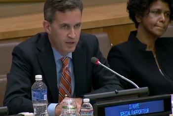 David Kaye. Foto: TV ONU