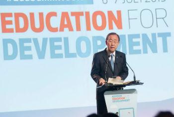 Ban Ki-moon participa da Conferência Global em Oslo, Noruega. Foto: ONU/Rick Bajornas