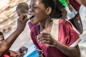 Vacina oral contra o cólera. Foto: OMS/L. Pezzoli