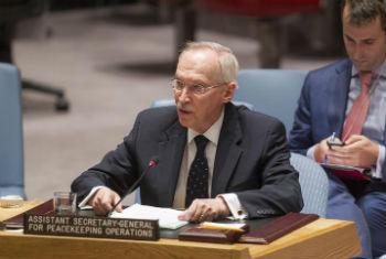 Edmond Mulet no Conselho de Segurança. Foto: ONU/Loey Felipe
