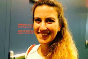Fernanda Vilar. Foto: Rádio ONU