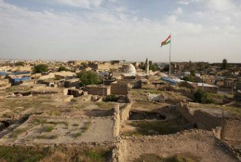 Erbil, capital do Curdistão, Iraque. Foto: ONU/Bikem Ekberzade