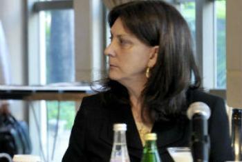 Diretora regional da ONU Mulheres para a América Latina e o Caribe, Luíza Carvalho. Foto: Rádio ONU.