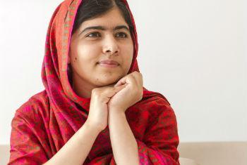 Malala Yousafzai.Foto: ONU/Mark Garten