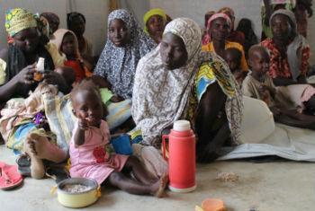 Nigerianas refugiadas nos Camarões após fugirem da violência do grupo Boko Haram. Foto: PMA/Sofia Engdahl