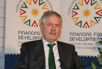 Vice-diretor de Política Estratégica do FMI,Sean Nolan. Foto: ONU/P. Lecomte