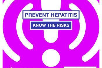 Campanha de prevenção contra a hepatite. Imagem: OMS