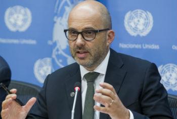Robert Piper, coordenador humanitário da ONU. Foto: ONU/Loey Felipe