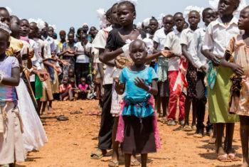 Crianças sul-sudanesas. Foto: ONU/JC McIlwaine