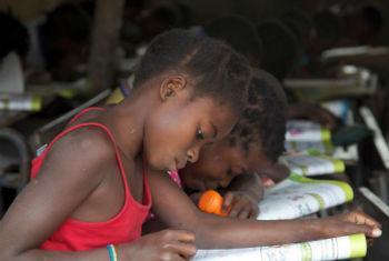 Moçambique recebe prémio de alfabetização. Foto: Unicef Moçambique
