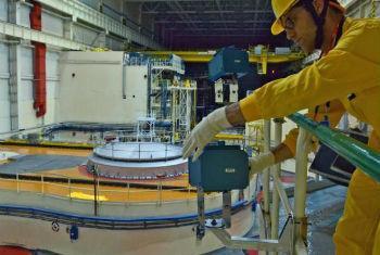 Técnico da Agência Internacional de Energia Atômica. Foto: Aiea