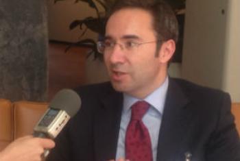 Jorge Moreira da Silva, ministro do Ambiente, Ordenamento do Território e Energia de Portugal. Foto: Missão de Portugal junto às Nações Unidas.