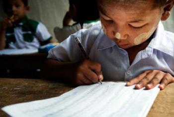 Meta é garantir educação a todas as crianças. Foto: Unesco