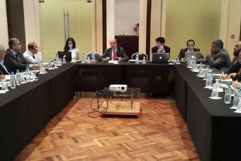 Nova ronda de negociações políticas sobre a Líbia em Skhirat, no Morrocos. Foto: Unsmil