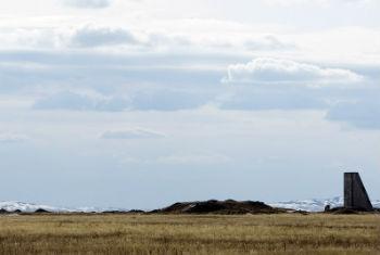 Vista do campo de teste nuclear Semipalatinsk, no Casaquistão. Foto: ONU/Eskinder Debebe