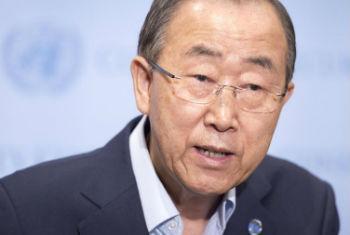 Secretário-geral da ONU Ban Ki-moon. Foto: ONU/Eskinder Debebe